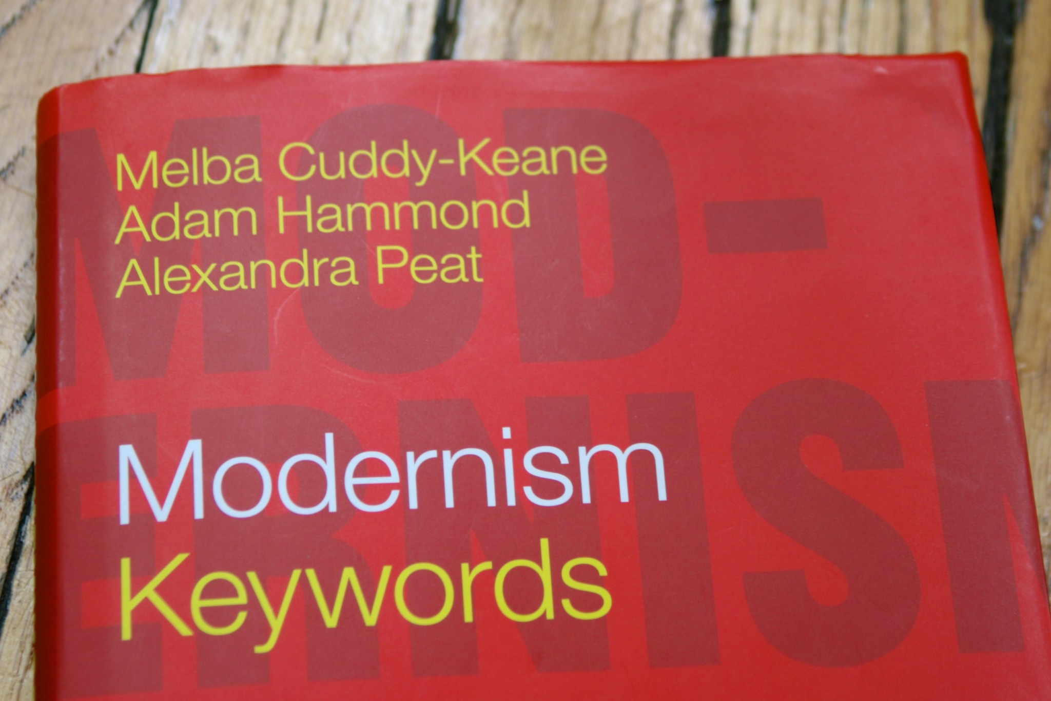 Modernism: Keywords