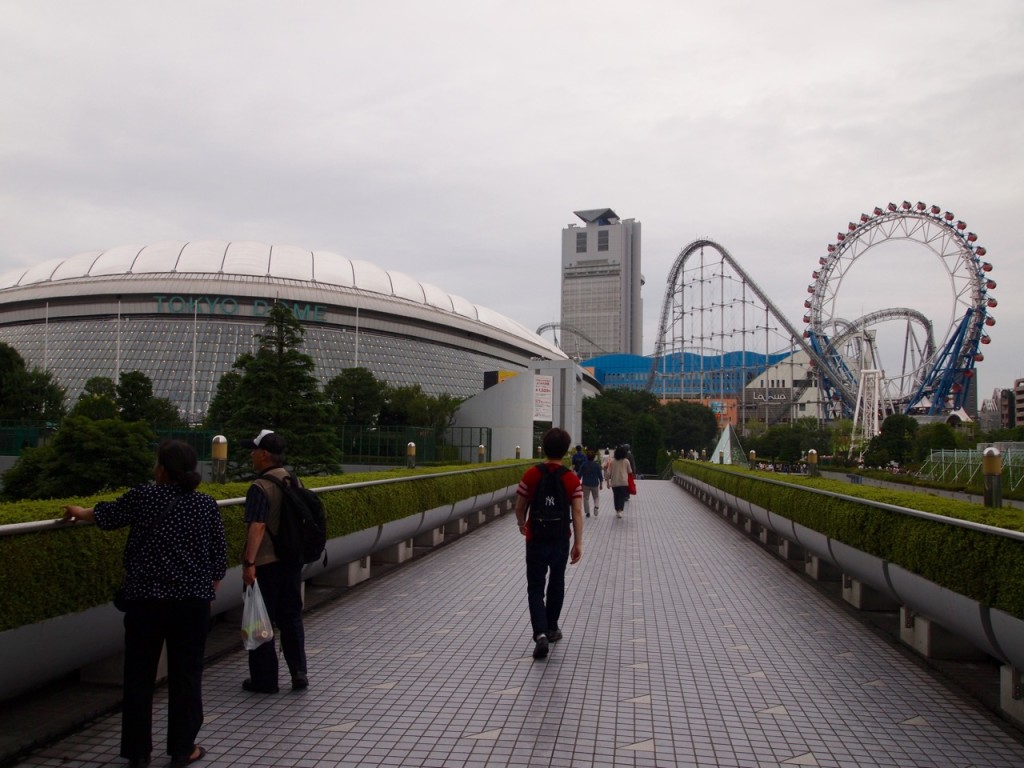 In Tokyo, every major attraction attracts more attractions. Hence, Tokyo Dome City.