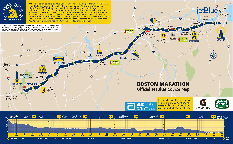 Marathon Subway Map.Boston 2018 How I Raced A Historically Brutal Marathon Adam Hammond